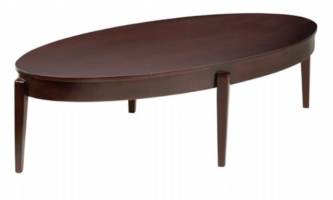 Rio Oval Coffee Table Oxford Office Furniture