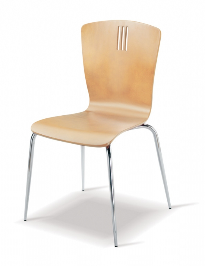 Drambuie Side Chair Maple Oxford Office Furniture