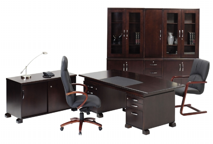 wall street in mahogany oxford office furniture