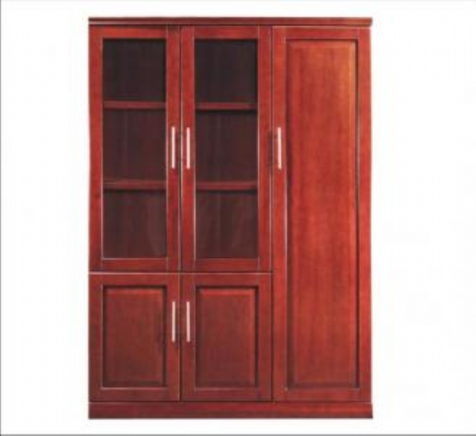 executive-wall-unit-3-door-rosewood-bookcase