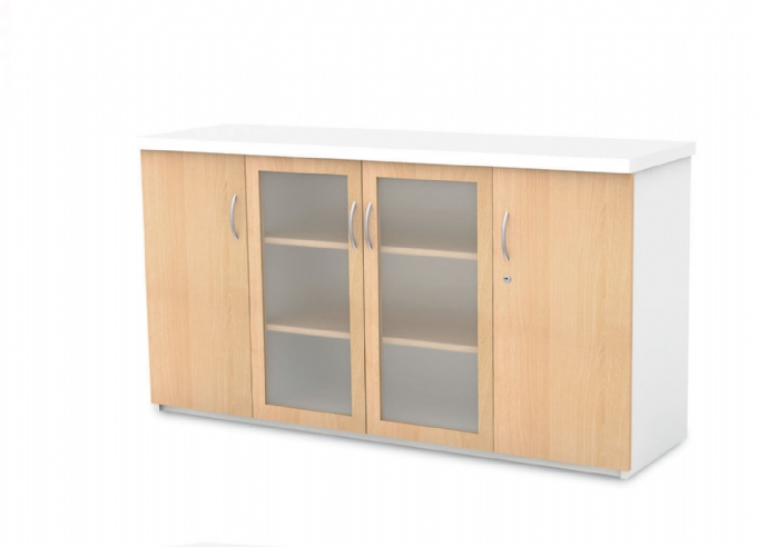 managerial-wall-units-Server-Unit-with-glass-doors-in-Melamine