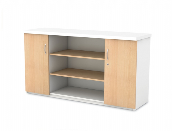 managerial-wall-units-Server-with-shelves-in-Melamine