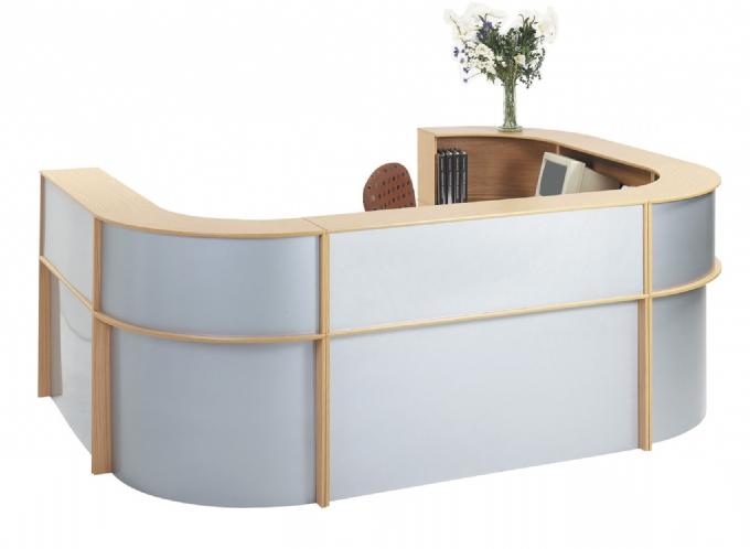 O Reception Counter Melamine Oxford Office Furniture