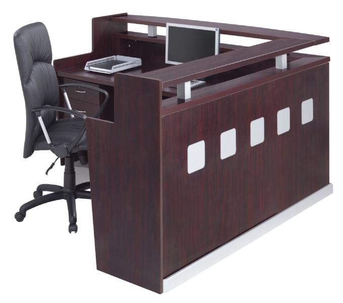 Squareline Reception Counter Oxford Office Furniture