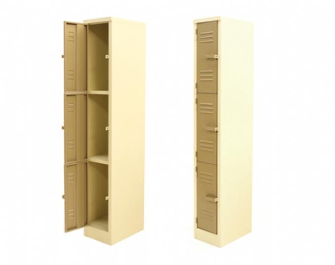 steel-storage-3-Compartment-locker-1800x300x450