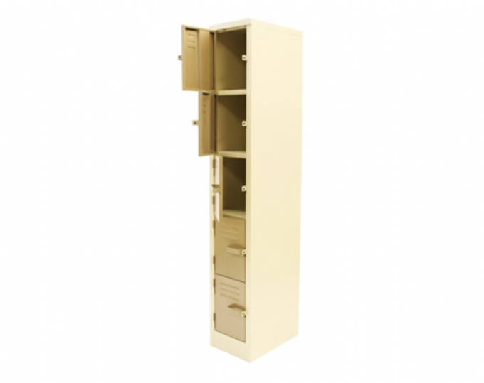 steel-storage-5-Compartment-locker-1800x300x450