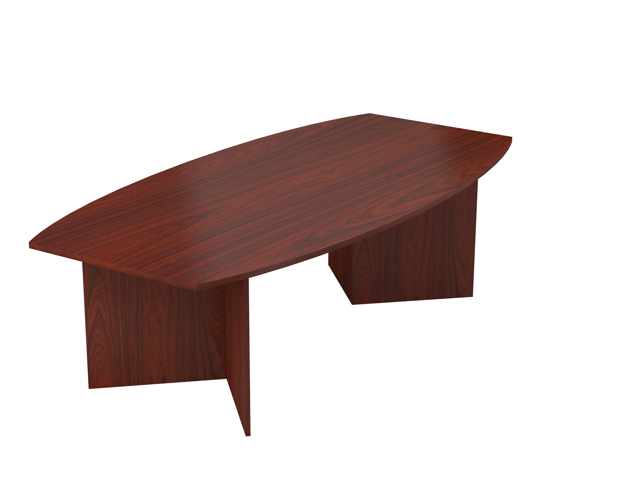 Barrel Shaped Boardroom Table Available In Melamine