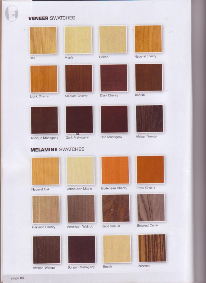 Wood Colours Oxford Office Furniture