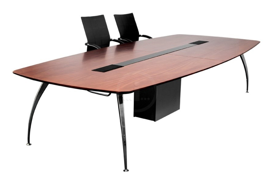 Sygma Barrel Shaped Boardroom Table Available In Veneer