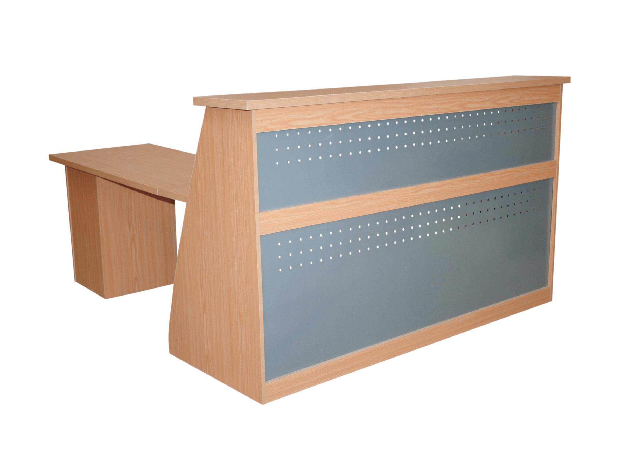 Eclipse Reception Counter Available In Various Sizes And Colours Melamine Oxford Office Furniture