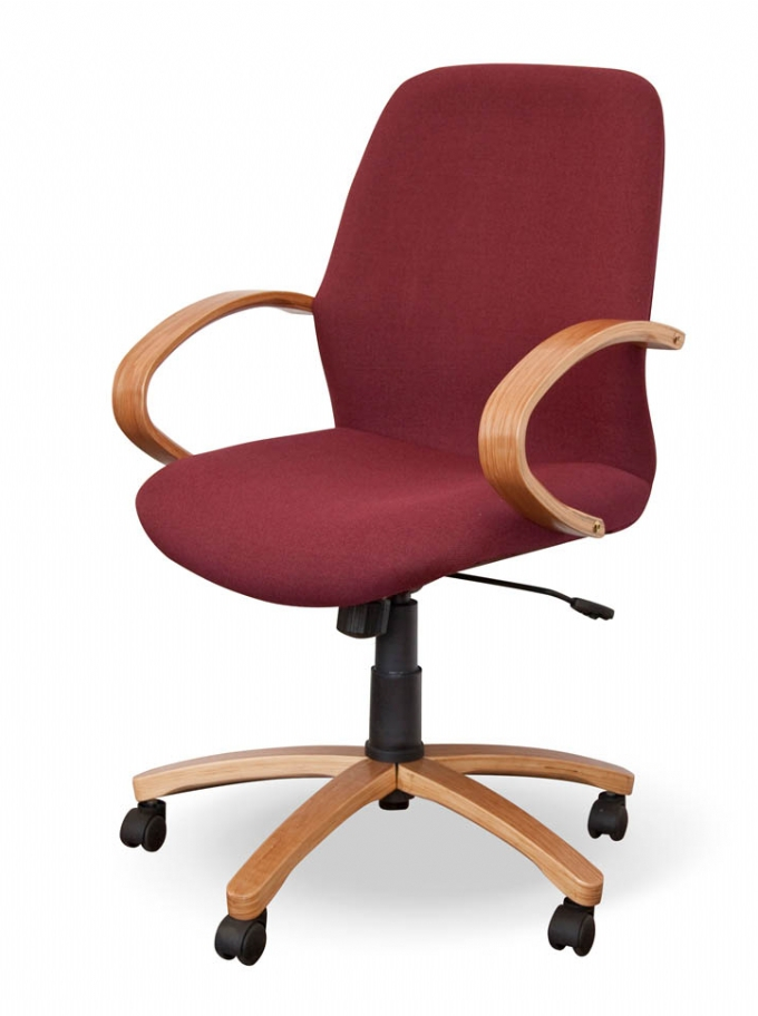 Morant Mid Back chair in wood