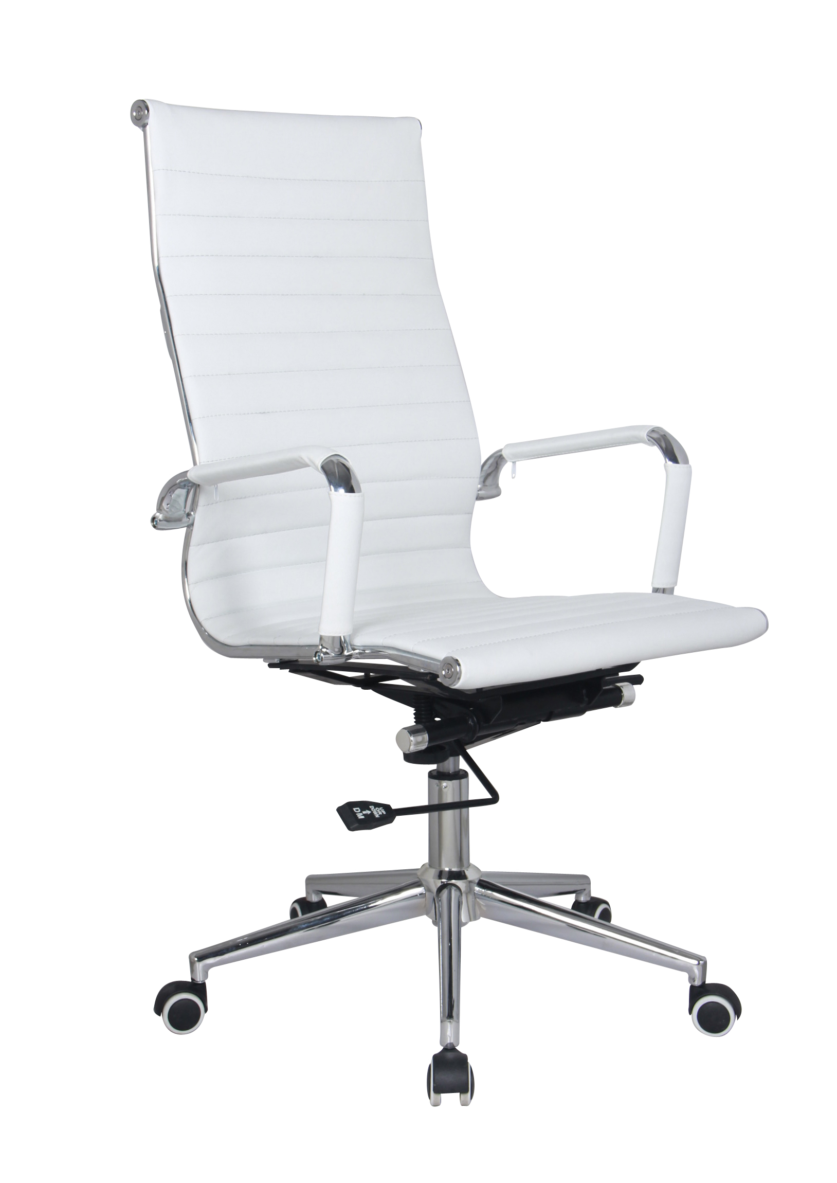 Classic High Back Chair - White | Oxford Office Furniture