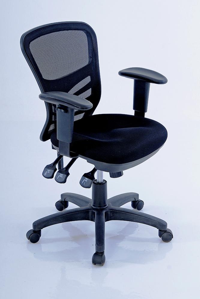 Ergonet 3 Typist Chair Oxford Office Furniture