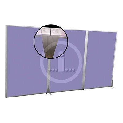 Acoustic floor based screen